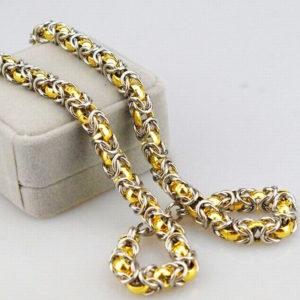 Antila egyedi titán nyaklánc különleges mintával