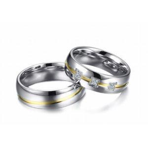 Alinda prémium nemesacél gyűrű akár párban is
