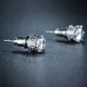 Lili cirkónia kristályos fülbevaló