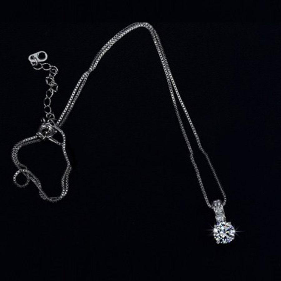 Stefánia cirkónia kristályos szett nyaklánc fülbevaló